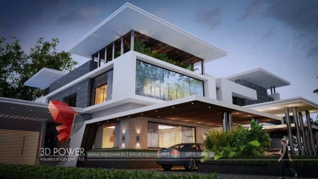 Exceptional home bungalow architecture designs 3d architectural bungalow rendering Home design architecture 3d